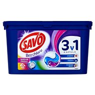 SAVO Barevné prádlo 3in1 45 ks - Kapsle na praní