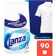 Prací prášek LANZA Fresh&Clean Bílá 6,3 kg (90 praní) - Prací prášek