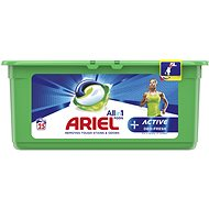 ARIEL Active Sport 3in1 25 ks            - Kapsle na praní