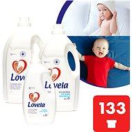 Tekutý prací prostředek LOVELA Gigapack Bílé 9,4 l (133 praní) + aviváž zdarma - Tekutý prací prostředek