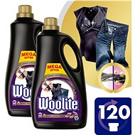 WOOLITE Dark, Black & Denim 2 × 3.6 l (120 washes)