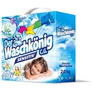 DER WASCHKÖNIG Prací prášek Sensitive 2 kg (20 praní) - Prací prášek