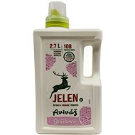 JELEN Softener Lilac 2,7l (108  Washes) - Eco-Friendly Fabric Softener