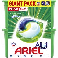 ARIEL All-in-1 Mountain Spring 80 ks - Kapsle na praní