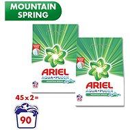 ARIEL Mountain Spring 2× 3,3 kg (90 praní) - Prací prášek