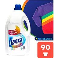 LANZA Fresh&Clean Gel na barevné prádlo 4,5 l (90 praní) - Prací gel