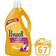 PERWOLL Care&Condition 4,05 l (67 praní) - Prací gel