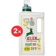 JELEN Prací gel s vůní lípy 2× 2,7 l (120 praní)