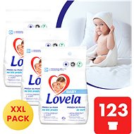 LOVELA Baby for white laundry 3 × 4.1 kg (123 washes)
