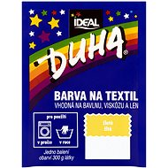 DUHA barva na textil žlutá 15 g - Barva na textil