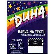 DUHA barva na textil černá 15 g - Barva na textil