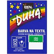 DUHA barva na textil zelená 15 g - Barva na textil
