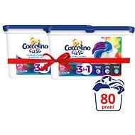 COCCOLINO Care Color 2× 40 ks