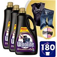 WOOLITE Dark, Black & Denim 3 × 3,6 l (180 praní) - Tekutý prací prostředek