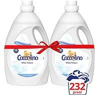 COCCOLINO White Flowers 2× 2,9 l (232 praní)