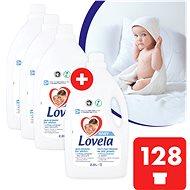 LOVELA Baby na bílé prádlo 4× 2,9 l (128 praní) - Prací gel