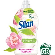 SILAN Naturals Peony & White Tea Scent 1,45l (58 praní) - Eko aviváž