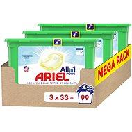 ARIEL All-in-1 Pods Sensitive 3× 33 ks - Kapsle na praní