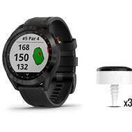 Garmin Approach S40 Black, CT10 Bundle