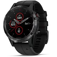 Garmin Fenix ​​5 Plus Sapphire Black Optic Black Band - Smartwatch