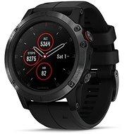 Garmin Fenix 5X Plus Sapphire Black, Black Band + ZDARMA Garmin HRM Run2 - Chytré hodinky