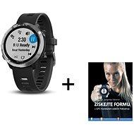 Garmin Forerunner 645 Optic Music Black + kniha Získejte formu s GPS monitorem srdečního tepu - Chytré hodinky