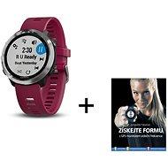 Garmin Forerunner 645 Optic Music Red + kniha Získejte formu s GPS monitorem srdečního tepu - Chytré hodinky