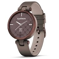 Garmin Lily Classic Dark Bronze/Paloma Leather Band