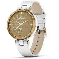 Garmin Lily Classic Light Gold/White Leather Band - Chytré hodinky