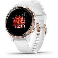 Chytré hodinky Garmin Venu 2S Rose Gold /White Band