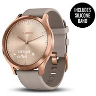 Garmin vívomove Optic Premium Rose Gold Gray Suede
