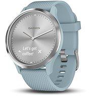 Garmin vívomove Optic Sport Silver Seafoam (velikost S/M) - Chytré hodinky