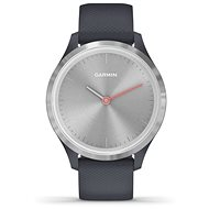 Garmin vívomove 3S Logo, Silver Grey - Smartwatch