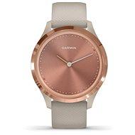 Garmin Vívomove 3S Sport, RoseGold Sand - Chytré hodinky