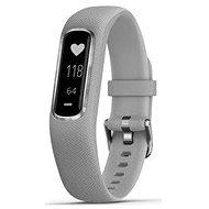 Garmin vivoSmart4 Gray/Silver (velikost S/M) - Fitness náramek