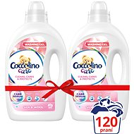 COCCOLINO Care Silk & Wool 2 × 2.4 l (120 washes)