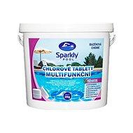 Sparkly POOL Pool Tablets Chlorine 6-in-1 Multifunctional 200g 5kg - Pool Chemicals