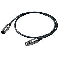 Proel BULK250LU3 - 3 m - Mikrofonní kabel
