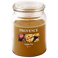 Provence Svíčka ve skle s víčkem 510g, Jablečný závin - Svíčka