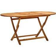 Skládací zahradní stůl 160 x 85 x 75 cm masivní akáciové dřevo 313324