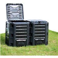 Garden composter black 1 200 l 312274 - Compost Bin