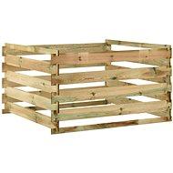 Kompostér Laťkový zahradní kompostér 120x120x70 cm impregnované borovice 316060