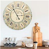 Nástěnné hodiny vícebarvené 60 cm MDF 325183