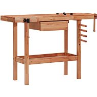 Planer with drawer and 2 vices hardwood 147842 - Workbench