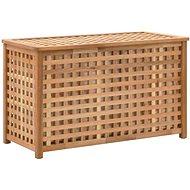 Linen chest 77,5 x 37,5 x 46,5 solid walnut 247602 - Workbench