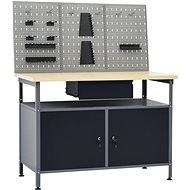 Work table with three wall panels 3053427 - Workbench