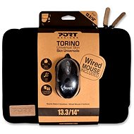 "PORT DESIGNS TORINO 13,3 / 14 ""notebook + WB MOUSE black - Laptop Case"