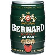 Bernard 11% světlý ležák 5l soudek - Pivo
