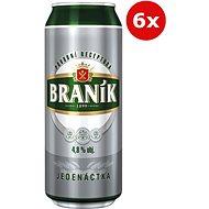 Braník Jedenáctka 6X0,5L Plech - Pivo
