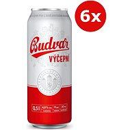 Budvar tap 6x0,5l sheet metal - Beer